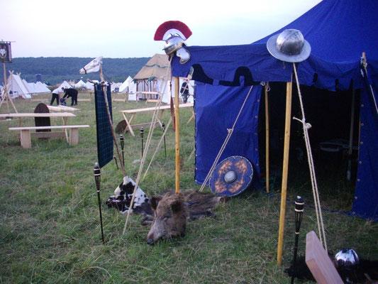 Hauptzelt Clan McCregger - Drachenfest 2010
