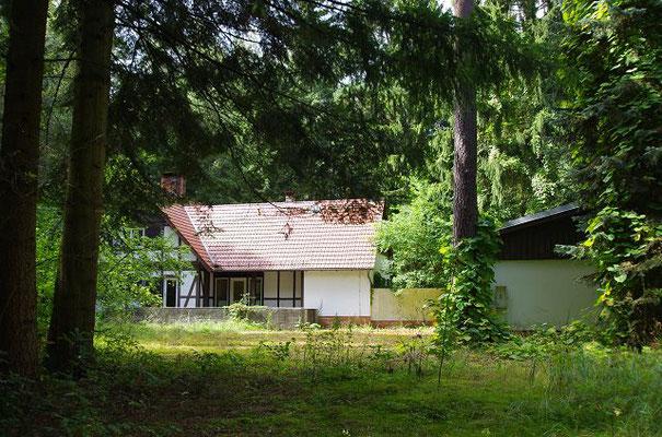 Honeckers Jagdhaus in der Schorfheide, Groß Schöneneck-Joachimsthal, aufgenommen 140820