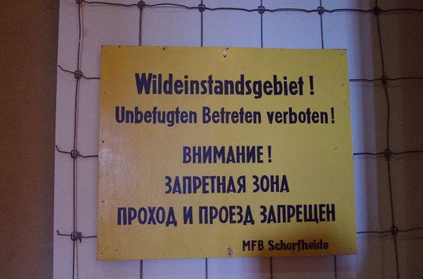 """Ausstellung """"Jagd und Macht"""" in Groß Schönebeck, aufgenommen 140817"""