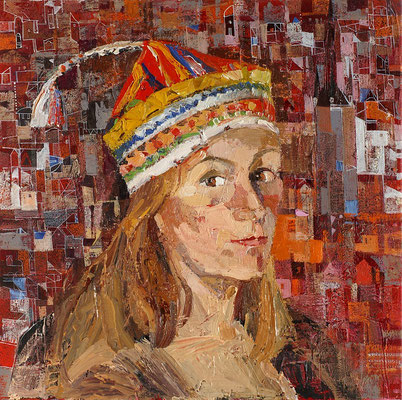 Fernweh, 2006, Öl auf Leinwand, 50 x 50 cm