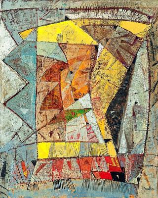 Corso, 2010, Mischtechnik auf Hartfaser, 40 x 30 cm