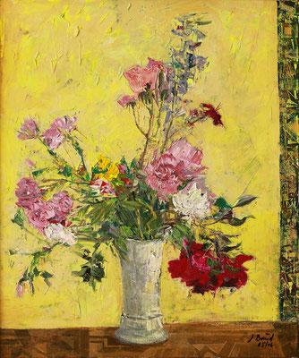 Gartenstrauß, 2006, Mischtechnik auf Leinwand, 60 x 50 cm
