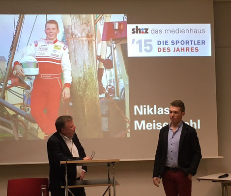 Meisenzahl im Interview mit Jürgen Muhl, dem stellvertretendem Chefredakteur des sh:z