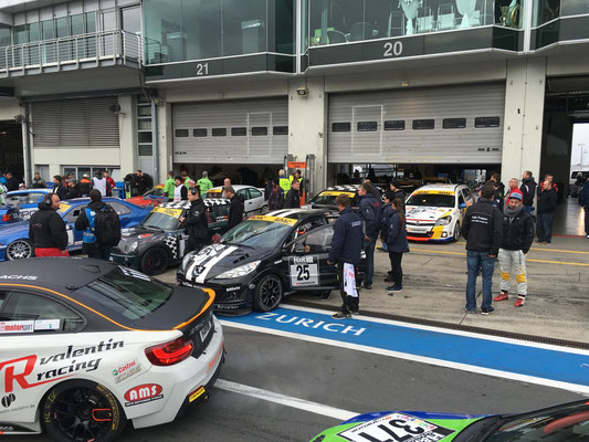 Start zum Qualifying