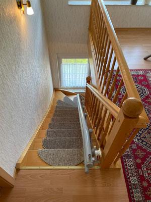 Treppenlift, Ende zur letzten Stufe