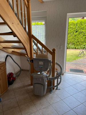 Viveco Treppenlift ohne Bohrungen