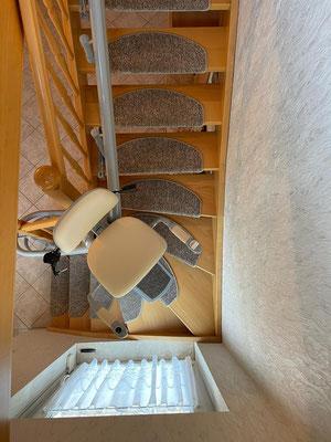 Viveco Treppenlift ohne Bohren