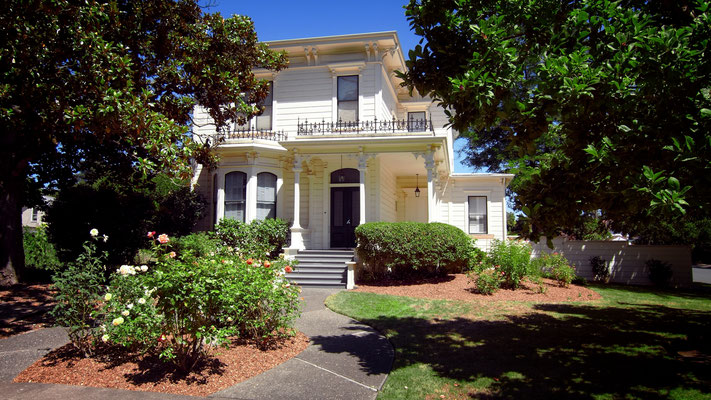 Haus der Newton Family im Historic District in Santa Rosa, Kalifornien
