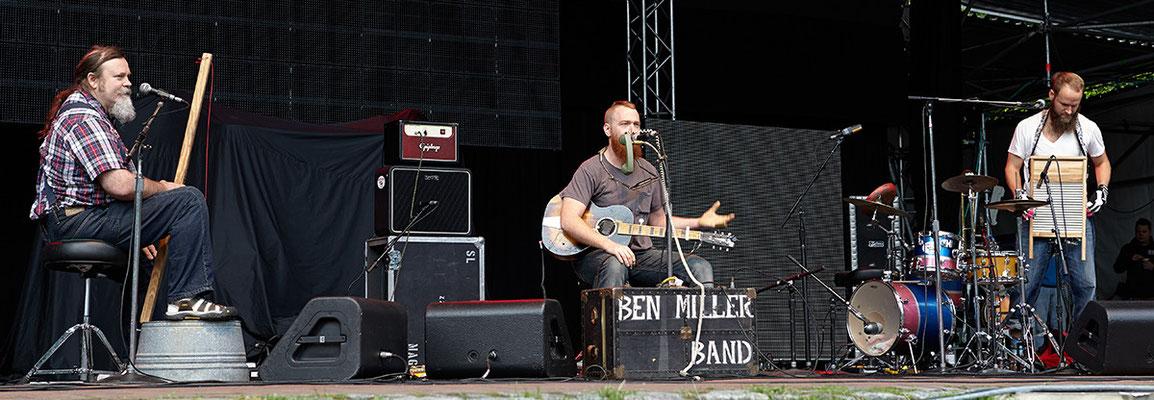 Die Ben Miller Band spielt eigene Songs vom aktuellen Album HEAVY LOAD