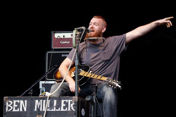Ben Miller wieder in Deutschland