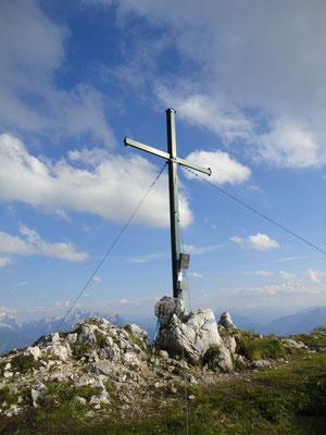 Gipfelkreuz Braunedelkogel 1984m