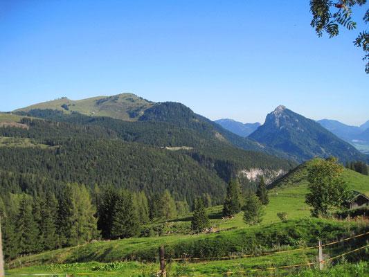 Aussicht von der Rettenegghütte