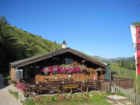 Rettenegghütte in der Postalm 1222m