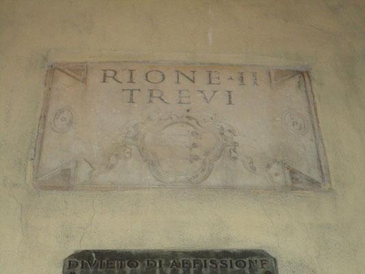 Rione Trevi, Roma