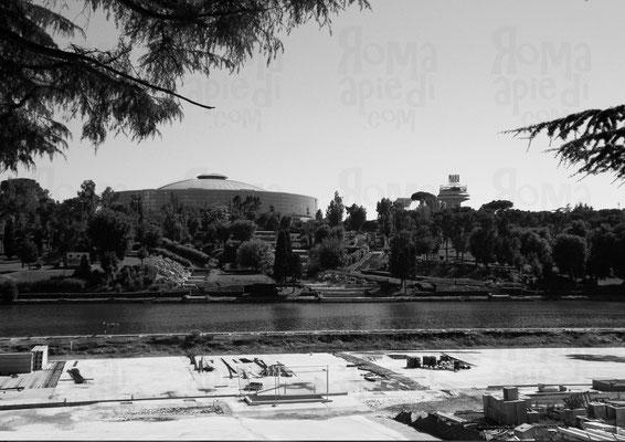 """Palazzo dello Sport e il """"Fungo"""", Foto ©Paride Ruscitto"""