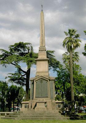 Obelisco divenuto il Monumento ai Caduti di Dogali - Wikimedia, Licenza CC