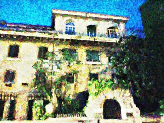 Particolari del Palazzo dei Borgia