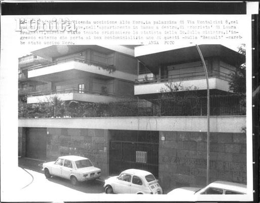 Luogo di detenzione: via Montalcini 8, Magliana, Roma