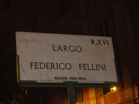 Largo Federico Fellini, Roma