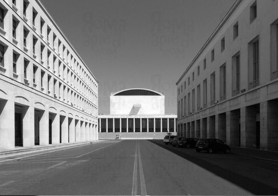viale della Civiltà e del Lavoro: vista sul Palazzo dei Congressi, Foto ©Paride Ruscitto