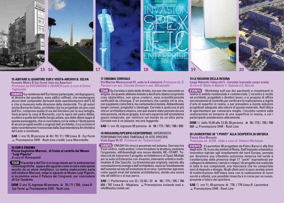 """Itinerario """"Eur e cinema"""""""