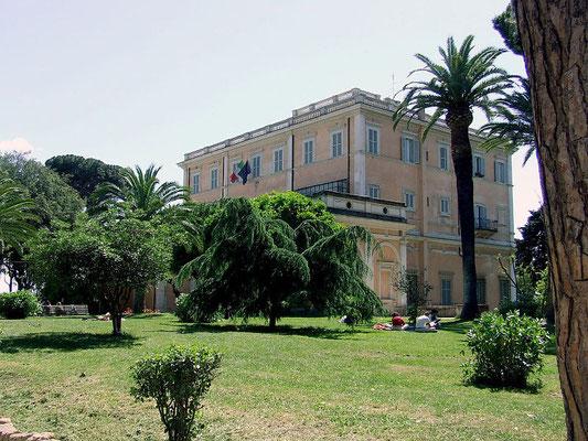 Società Geografica Italiana, Roma - Wikimedia, Licenza CC
