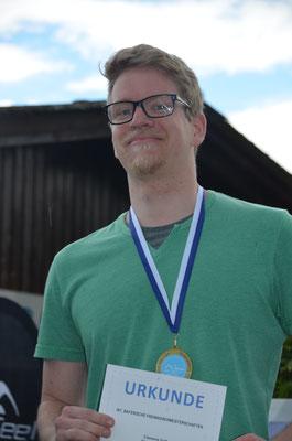 Siegerehrung Bayerische Meisterschaften der Masters