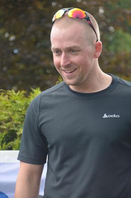 Siegerehrung Bayerncup mit Gesamtsieger über 5km Alexander Mundry