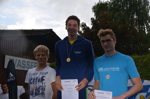 Siegerehrung Süddeutsche Meisterschaften