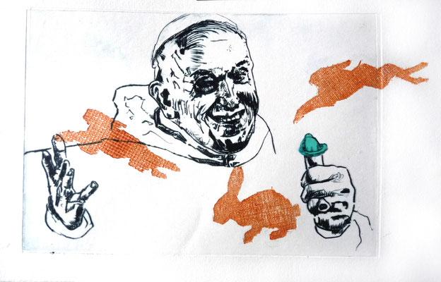 """Papst Franziskus: """"wir sollen uns nicht vermehren wie die Karnickel"""""""