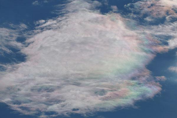 Farbspiel in den Wolken