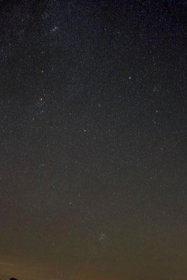 Sternbild Perseus im Herbst