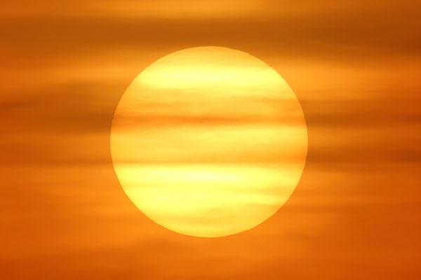 ein tollen Sonnenuntergang