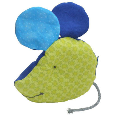 Spielkissen grün-blau