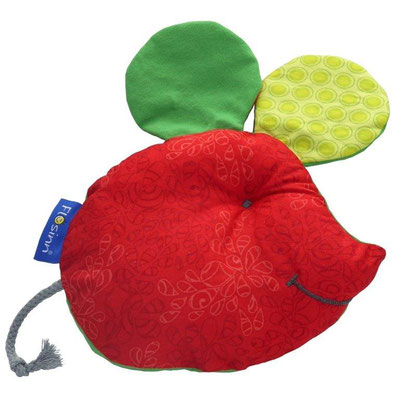 Spielkissen rot-grün