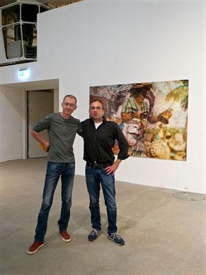 Die Künstler: Nikolaus Eberstaller & Pete Jones