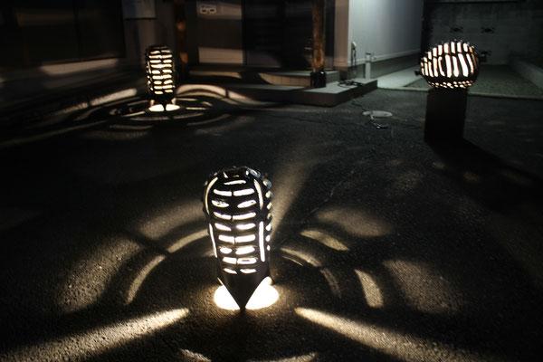 若宮自治会館の灯り