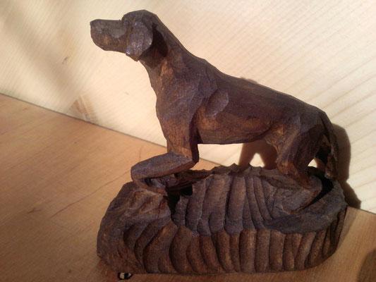"""Пойнтер по кличке """"Кадо"""". Любимая собака писателя Н.А. Некрасова."""