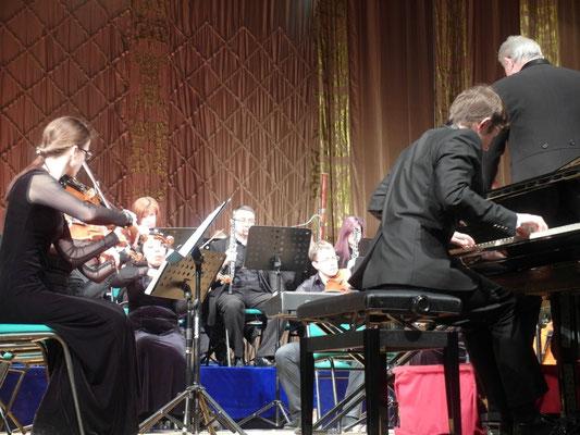 Пианист Руслан Баязитов (студент Венской консерватории) и ЭСО