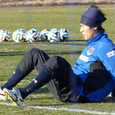 埼玉県Sさん提供2014年シーズン初練習