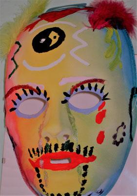 alle Masken fallen lassen