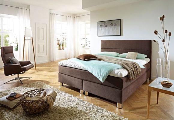 boxspringbett zusammenstellen in 140x200 140x210 140x220. Black Bedroom Furniture Sets. Home Design Ideas