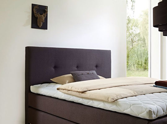 Boxspringbett Welcon Rockstar mit Latex Topper