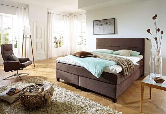 boxspringbett zusammenstellen in 140x200 140x210 140x220 160x200 160x210 160x220 180x200. Black Bedroom Furniture Sets. Home Design Ideas