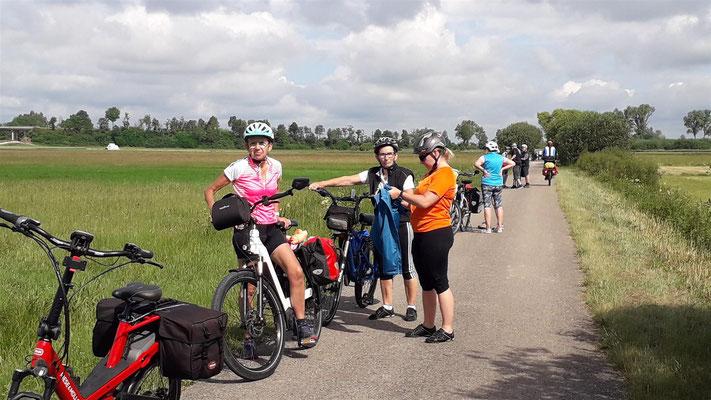 Pause wegen E-Bike-Akku