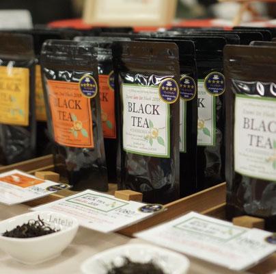 IZUMIの紅茶、茶期別で味わいの違いを楽しめます。