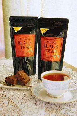 紅茶はティーバッグタイプもあります。