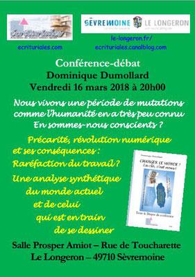 Conférence au Longeron