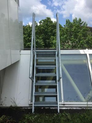 Treppenüberstieg