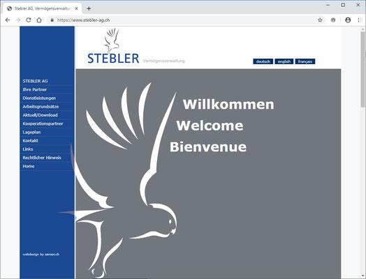 Stebler AG, Vermögensverwaltung